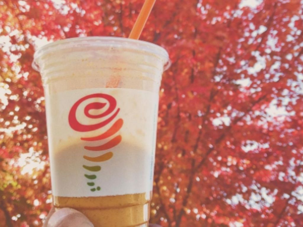 jamba pumpkin smash smoothie