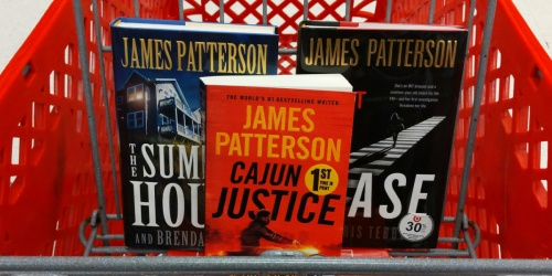Buy 1, Get 1 FREE James Patterson Books at Target | In-Store & Online