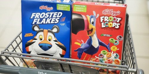 Kellogg's Cereal Only $1.49 at Walgreens (Regularly $4.29)
