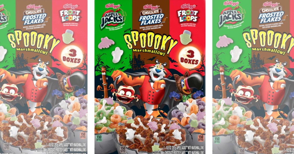 Kellogg's Halloween Cereal Boxes
