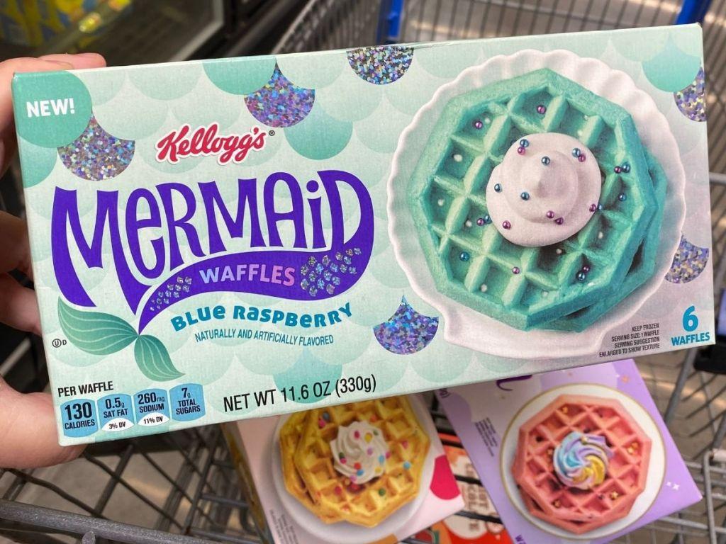 Kelloggs Mermaid Waffles