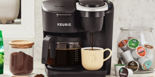 Keurig K-Duo Single Serve & Carafe Coffee Maker Only $79 Shipped on Walmart.com