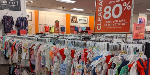 Up to 80% Off Kids Apparel Clearance at Kohl's | In-Store Only