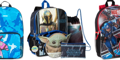 Star Wars Baby Yoda 5-Piece Backpack Set Only $11 on Walmart.com (Regularly $17)