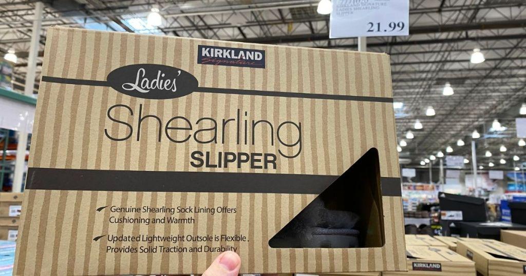 Kirkland Women's Shearling Slippers