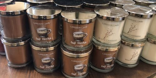 Kirkland's 3-Wick Jar Candles Only $8 | Includes New Fall Scents
