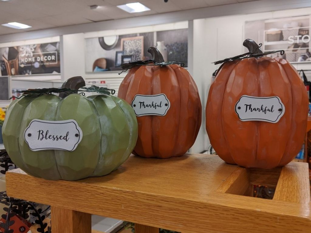 Kohl's Decorative Pumpkinson Shelf