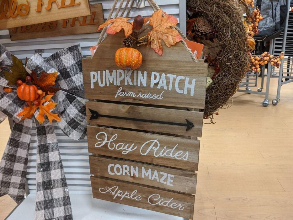 Fall Pumpkin Patch Farmhouse Wooden Wall Decor at Kohl's