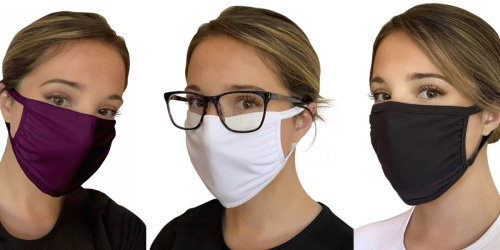 Reusable Cloth Face Mask 3-Packs Only $9 Shipped for Kohl's Cardholders | Just $3 Per Mask