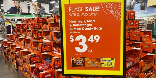 Up to 50% Off Halloween Candy Jumbo Bags at Kroger Stores (September 25th -26th Only)