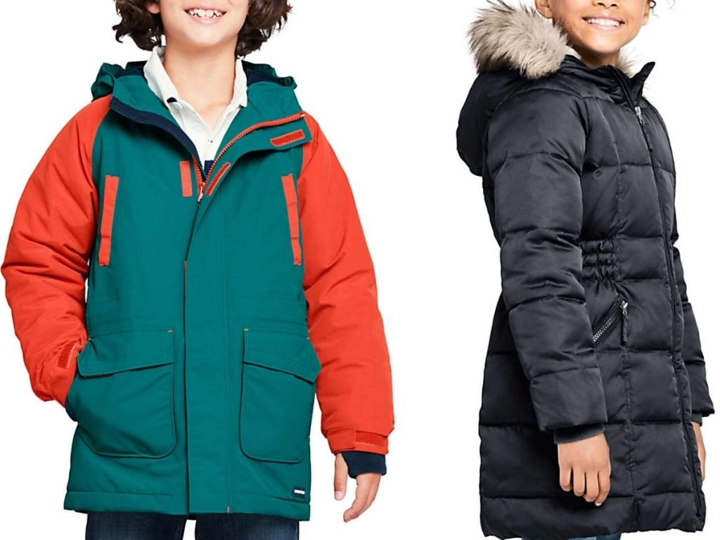 Land's End Boys and Girls Winter Jackets