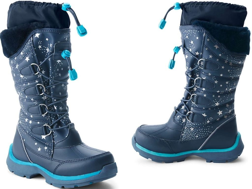 Land's End Girls Winter Snow Boots