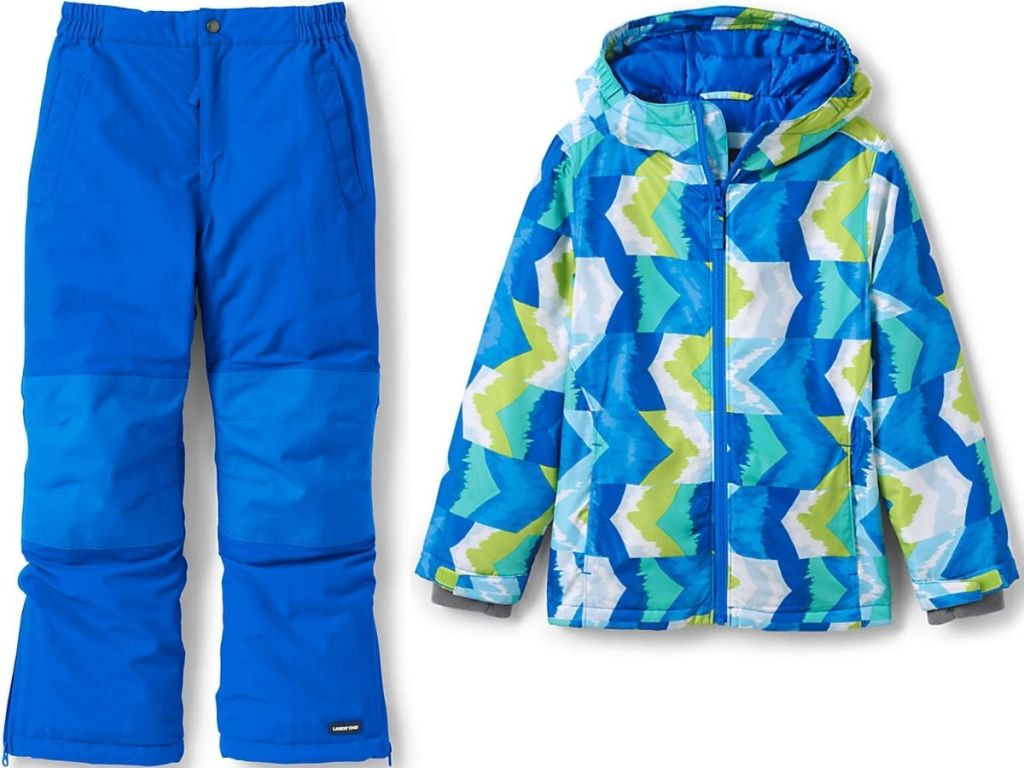 Lan's End Kids Snow Pants and Winter Jackets