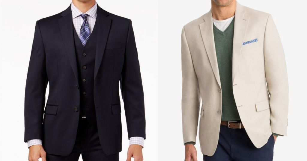 two men in suit jackets