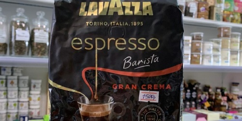 Lavazza Espresso Whole Coffee Beans 2.2lb Bag Only $10 Shipped on Amazon (Regularly $15)