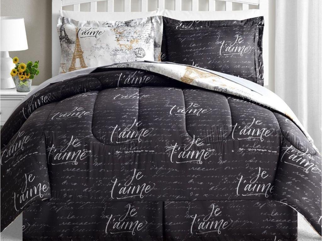 8-piece macy's comforter set
