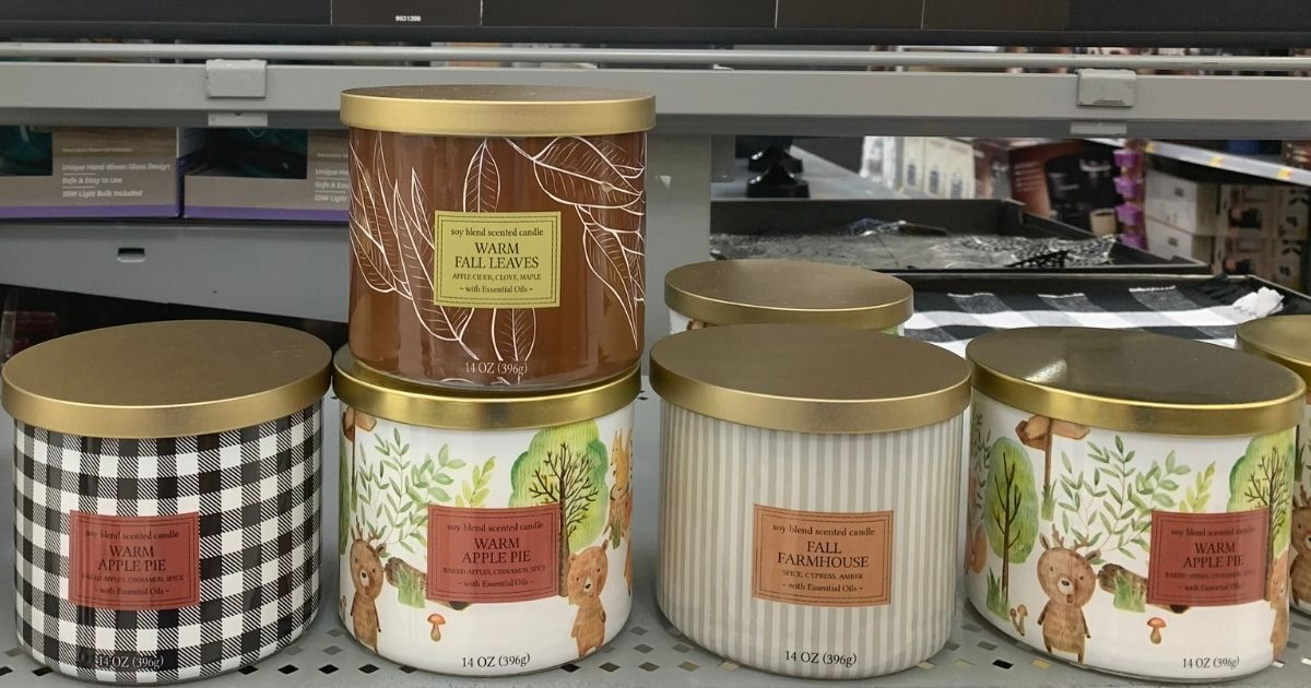 New Fall Scented Candles Under 6 At Walmart Similar To Bath Body Works Hip2save