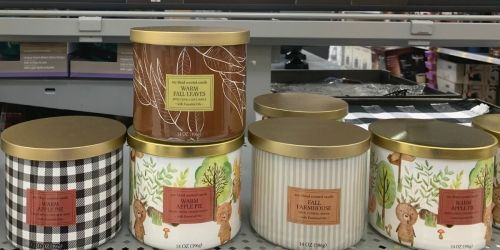 NEW Fall Scented Candles at Walmart From $4.97 | Compare To Bath & Body Works