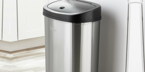 Mainstays Motion Sensor Trash Can Just $39.98 Shipped on Walmart.com (Regularly $48)