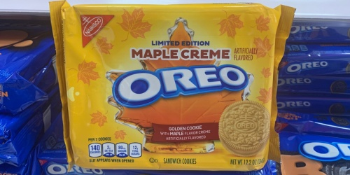 Maple Creme OREO Cookies Are Back at Target
