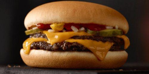 50¢ Double Cheeseburger at McDonald's for National Cheeseburger Day