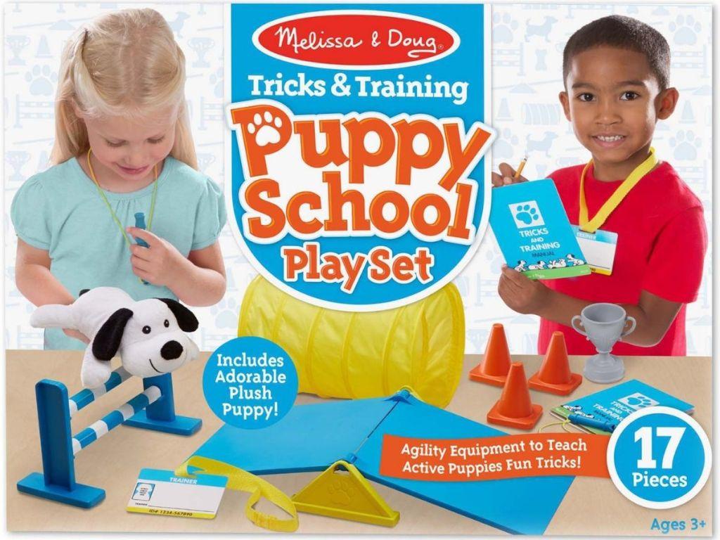 Melissa Doug Puppy School Play Set