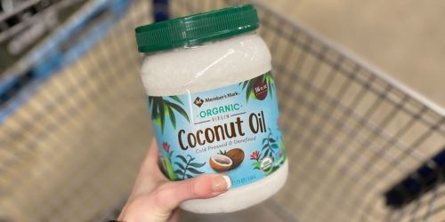 Member's Mark Organic Virgin Coconut Oil 56oz Jar Only $7.84 on Sam'sClub.com (Regularly $14)