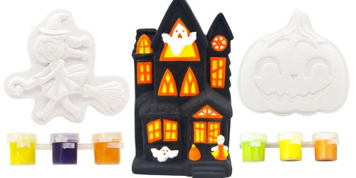 Paint-Your-Own Halloween Figurine Kits from $1.79 on Michaels.com