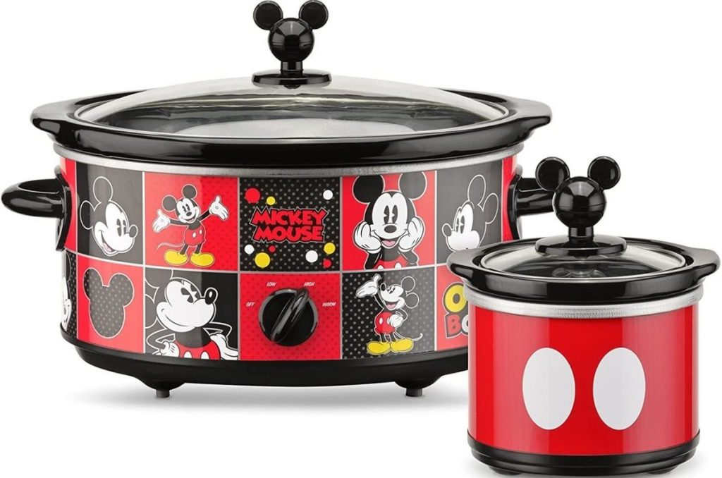 Mickey Mouse Slow Cooker and Dipper Set