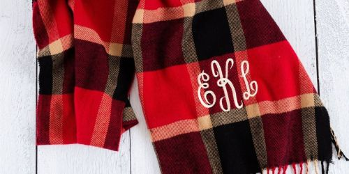 Personalized Monogram Scarf Only $10.99 Shipped (Regularly $24)