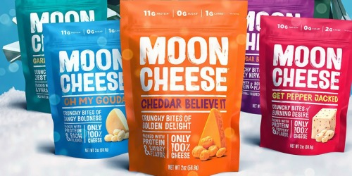 Moon Cheese Variety 3-Pack Only $8.99 Shipped | Low Carb Snack