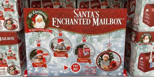 Magically Send Letters to the North Pole w/ Santa's Enchanted Mailbox Only $24.97 on Walmart.com