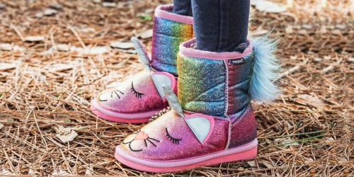 Muk Luks Kids Boots from $16.99 on Zulily (Regularly $44+)