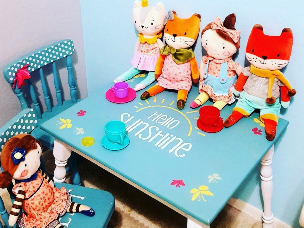 My Petit Collection 16_ Plush Dolls on kids play table