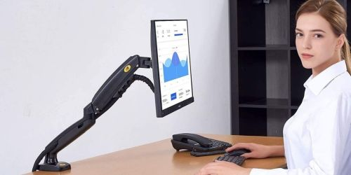 Adjustable Ergonomic Computer Monitor Arms from $24.90 Shipped on Amazon | Awesome Reviews