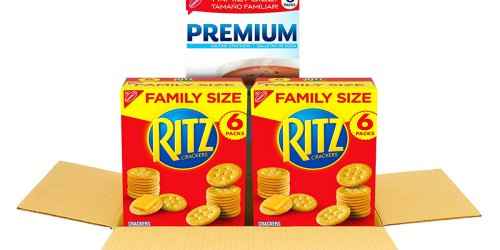 Family Size Ritz & Premium Saltine Crackers Variety Pack Just $7.67 Shipped on Amazon