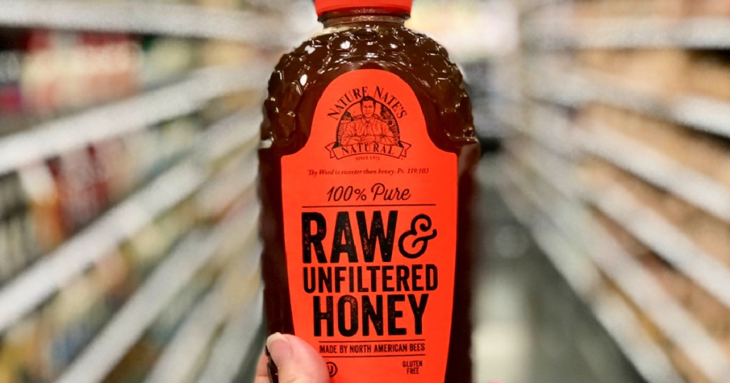 Nature Nate's 100% Raw & Unfiltered 40oz Honey