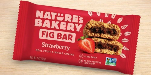 Nature's Bakery Whole Wheat 12-Count Fig Bars Just $4.75 Shipped on Amazon