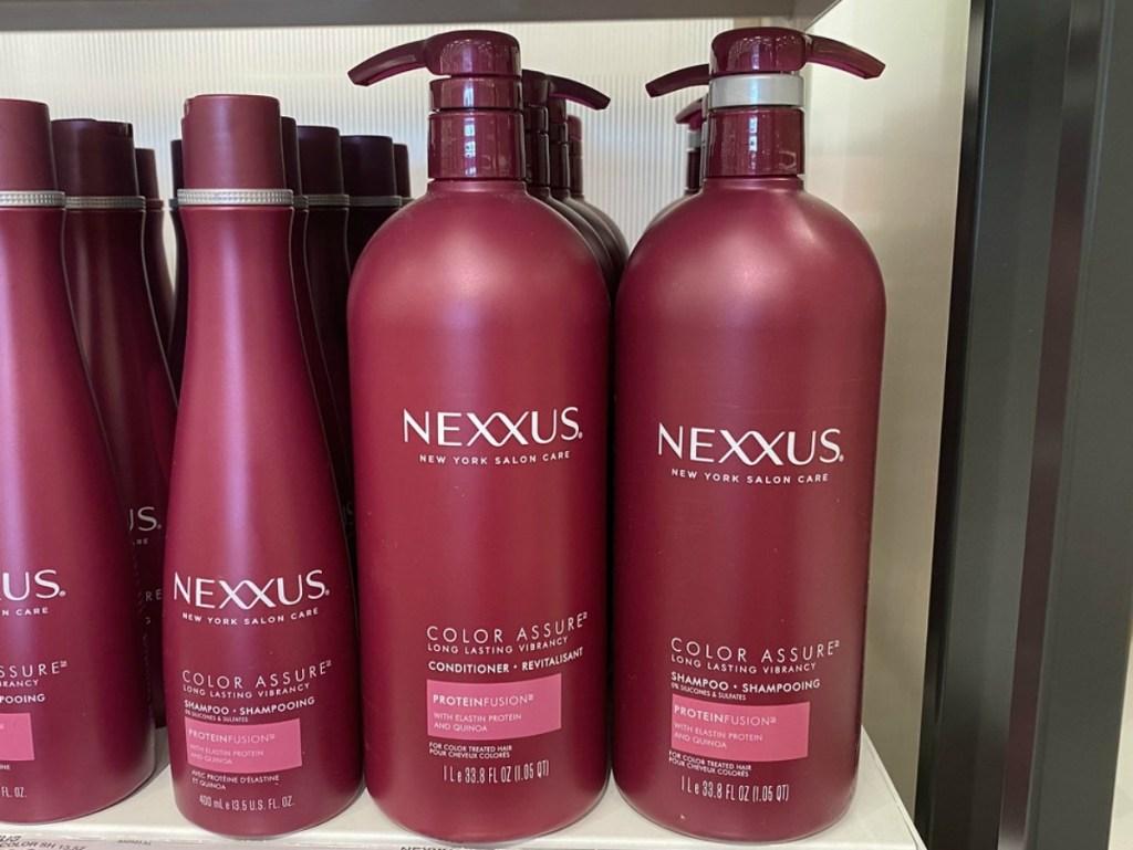 Nexxus color assure bottles