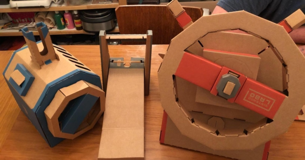 put together Nintendo Labo Toy-Con Vehicle Kit