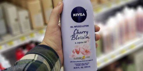 NIVEA Oil Infused 16.9oz Lotion Only $3.73 Shipped on Amazon (Regularly $6)