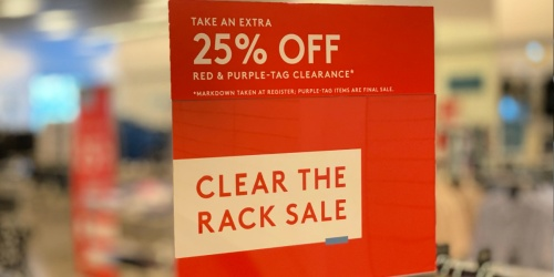 Last Chance! Shop Nordstrom's Clear the Rack Sale & Save up to 85% Off Apparel & Footwear