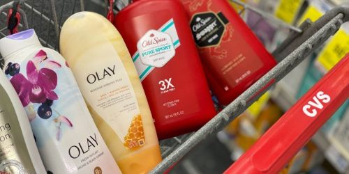 Over $76 Worth of Olay & Old Spice Body Wash Only $20 After CVS Rewards & Rebate