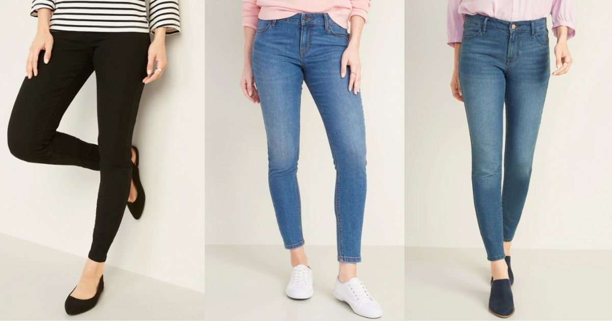 women's jeans at old navy