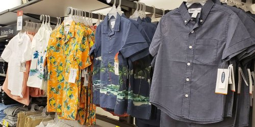 Old Navy Shirts for the Family Only $7-$12 (Regularly up to $33)