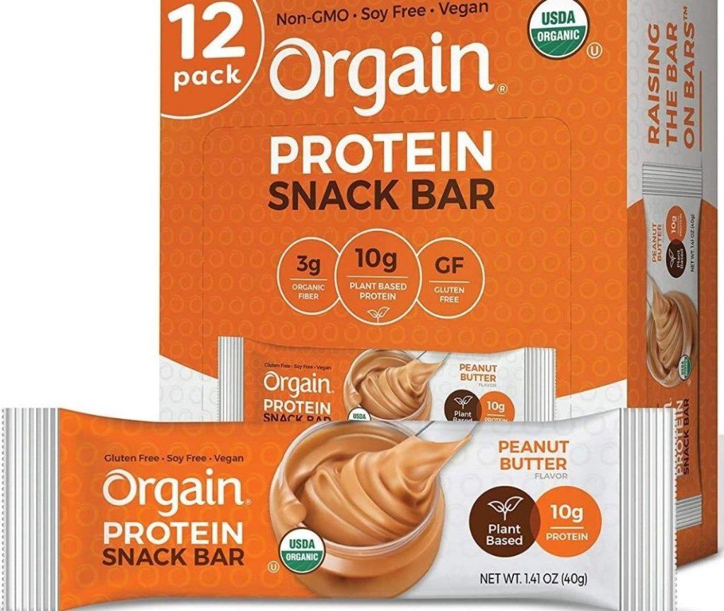 Orgain Protein Snack Bar