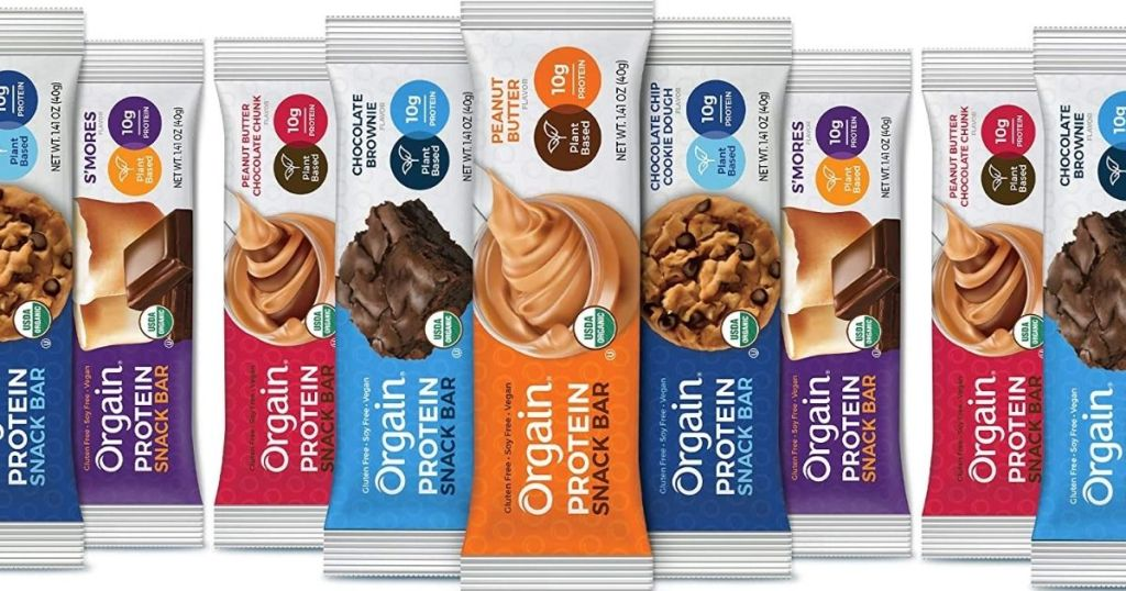 Orgain Protein Snack Bars