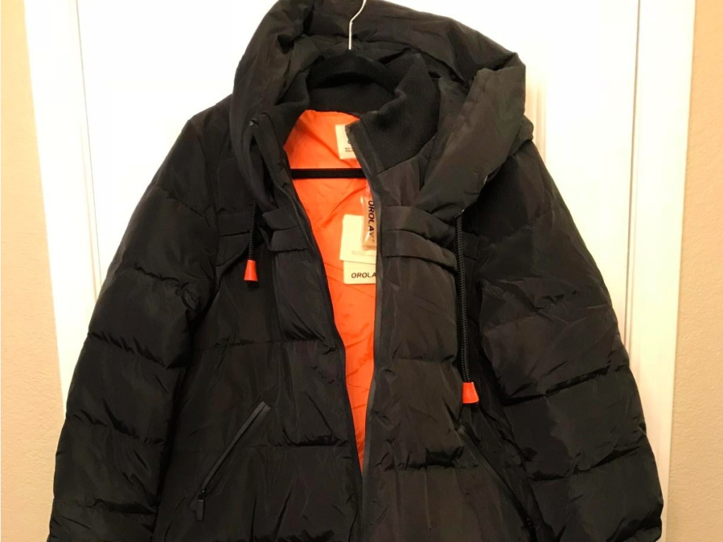 Orolay Women's Long Hooded Puffer Down Jacket