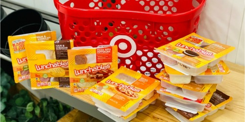 Buy 5, Get 5 FREE Lunchables at Target | Stock Up for Back to School