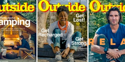 Complimentary 1-Year Outside Magazine Subscription